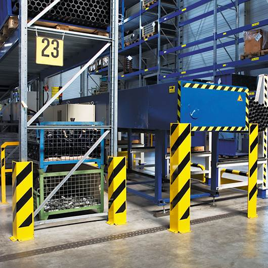 Picture of TRAFFIC LINE - Heavy Duty Pallet Rack Protectors