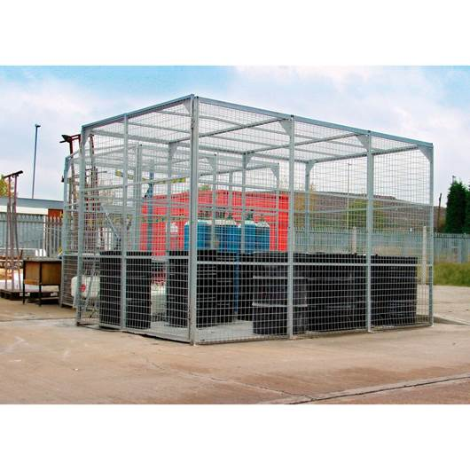 Picture of Mesh Storage Cages