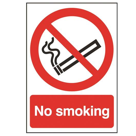 Picture of No Smoking Sign
