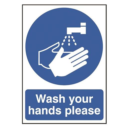Picture of Wash Your Hands Please Sign