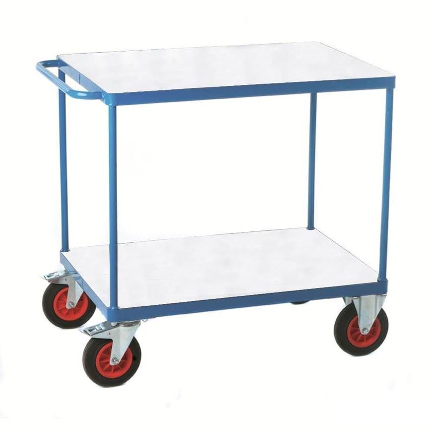Picture of Fort Shelf Truck with Galvanised Shelves