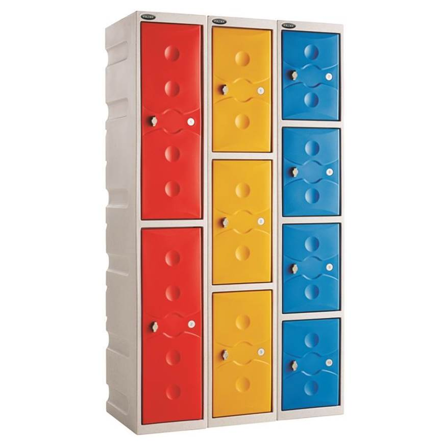 Picture of Full Height Plastic Shower Lockers
