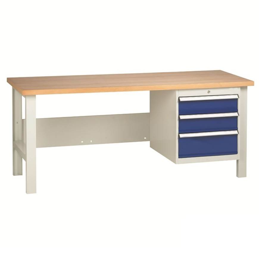 Picture of Heavy Duty Workbenches with 3 Drawer Set
