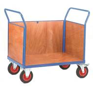 Picture of Fort Plywood Platform Trucks with Three Sides