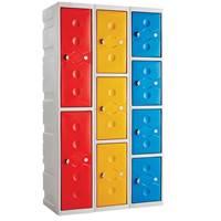 Picture of Full Height Plastic Plus Lockers