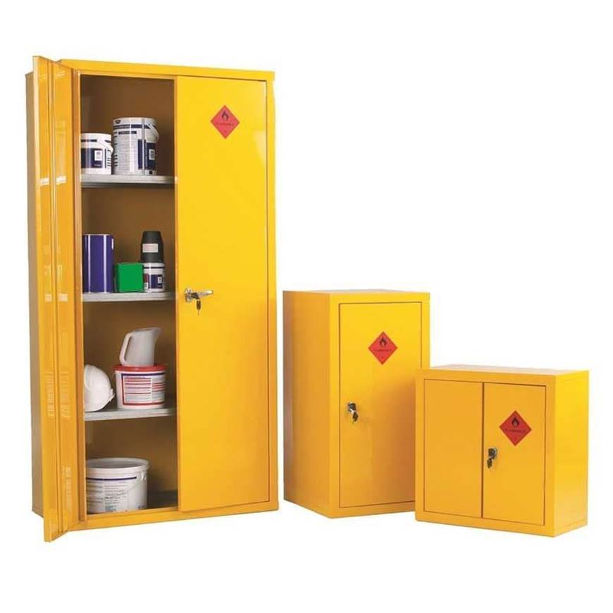 Picture of Heavy Duty Hazardous Materials Storage Cabinets