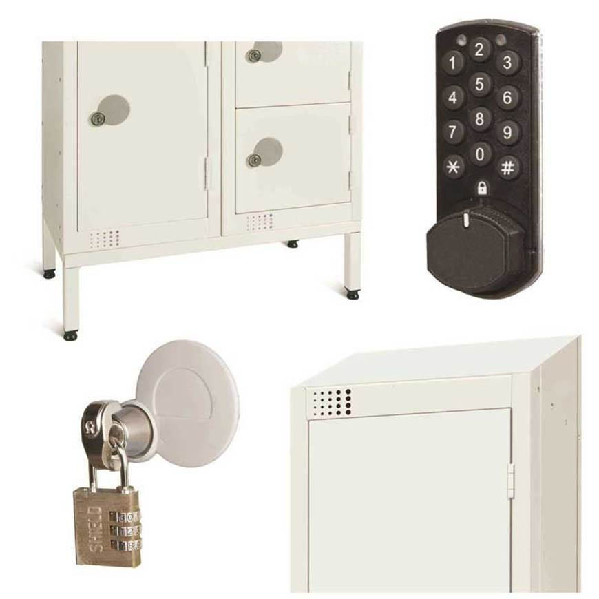 Picture of Accessories for All White Lockers