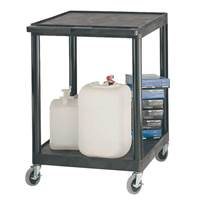 Picture of Large Plastic Multi-Purpose 2 Shelf Trolley
