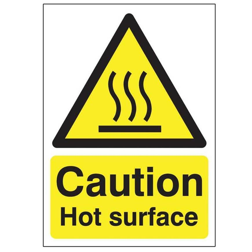 Picture of Caution Hot Surface Sign