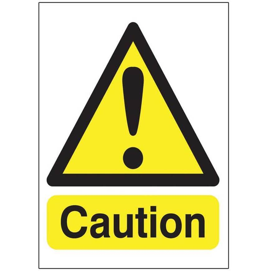 Picture of Caution Sign