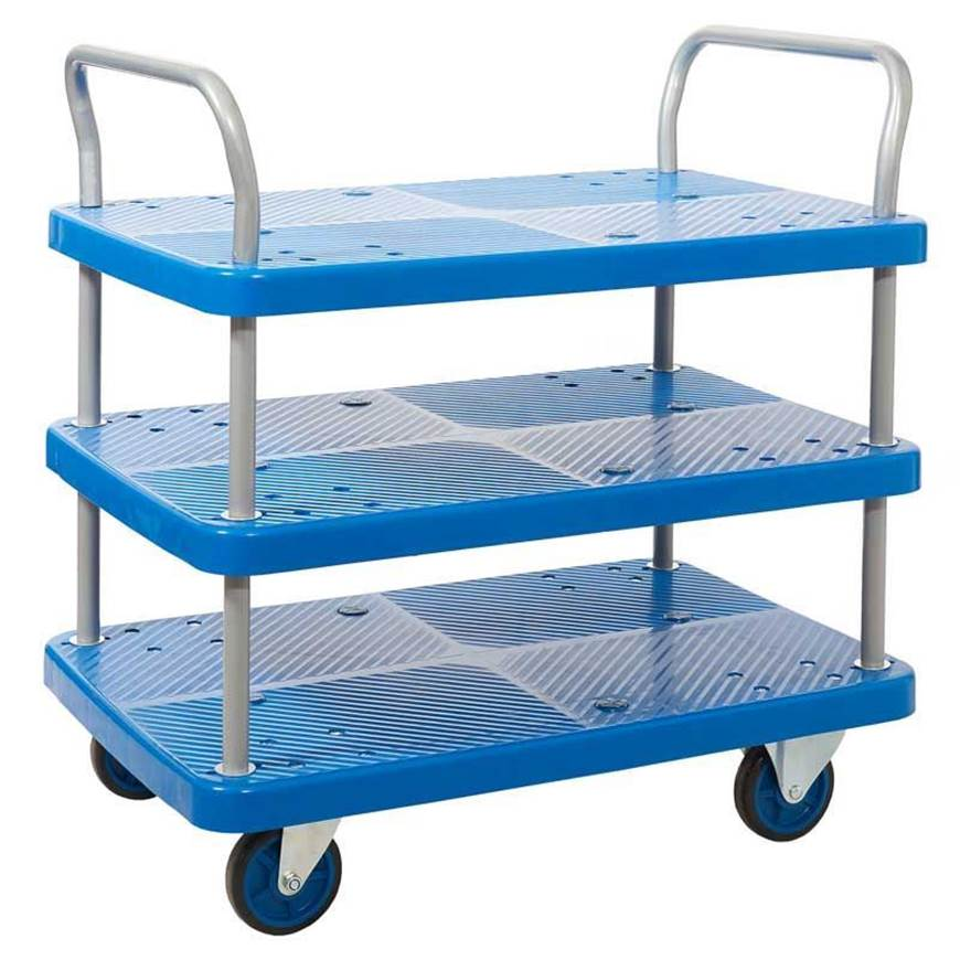 Picture of Proplaz Blue Three Tier Trolley