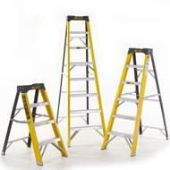 Picture of Climb-It Glass Fibre Swingback Stepladders