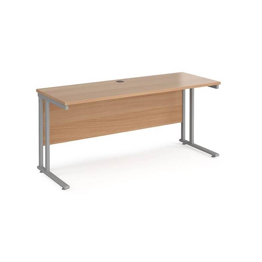 Picture of Maestro Desking - Straight Desks - White Worktop